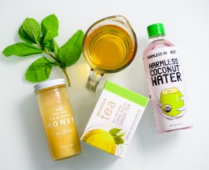 Iced Coconut Brassica Tea with glucoraphanin recipe ingredients