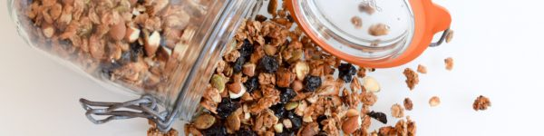 Brassica Coffee Mocha Peanut Butter Granola