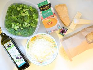 Broccoli risotto recipe - ingredients