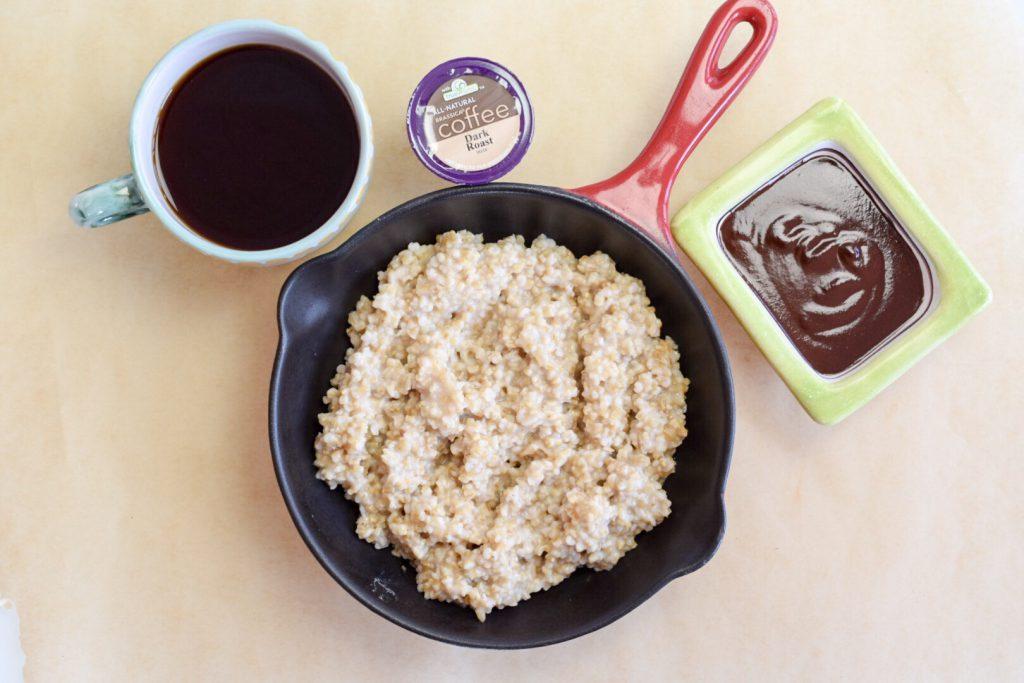 Image of Brassica Coffee Mocha Oatmeal Ingredients