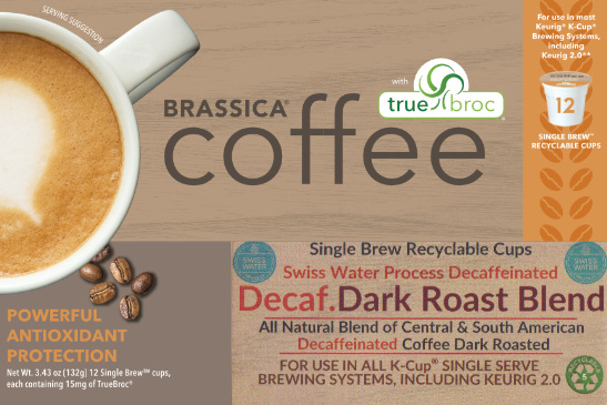 decaf dark roast blend coffee