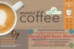 decaf light roast blend coffee
